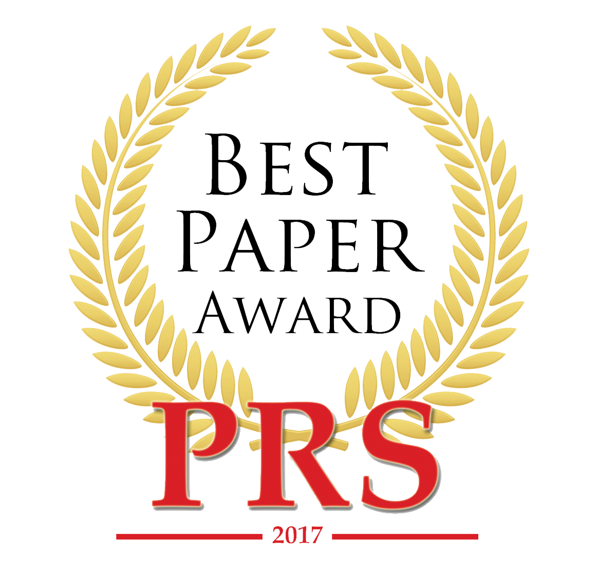 BestPaperAwardPRS2017
